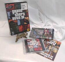 Grand Theft Auto III 3 Complete Box & Manual & Map / Poster PC 2002