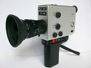 Braun Nizo 561 Super 8 Camera, all serviced, tested and working.