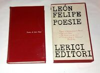 Poesie di Leon Felipe - Lerici, 1963
