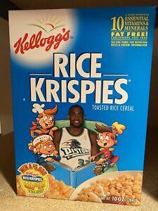 Detroit Pistons Grant Hill ROY Rice Krispies Box