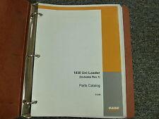 Case Model 1830 Uniloader Skid Steer Loader Parts Catalog Manual Book D1245
