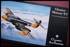 Gloster Meteor T.7 1/48 SCALE CLASSIC AIRFRAME RARE MODEL KIT