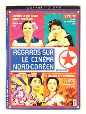 Regards sur le cinéma nord-coréen Coffret 3 DVD / Le Calice, La Fille Aux Fleurs
