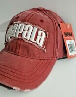 Rapala Fishing Tackle Adjustable Hat Embroidered Distressed Look Cap Brand New
