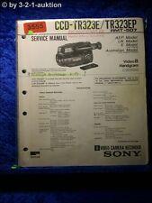 Sony Service Manual CCD TR323E / TR323EP (#3555)