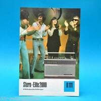 Estrella Elite 2000 Koffersuper 1975 Folleto Publicidad Dewag Dean Read DDR R111