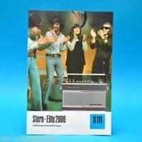 Stern Elite 2000 Koffersuper 1975 | Prospekt Werbung DEWAG Dean Read DDR R111 E