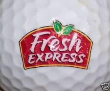 (1) FRESH EXPRESS                LOGO GOLF BALL BALLS