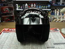 HJC CL-31 Gloss Black open face street bike helmet with sun visor XXS