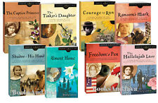 Daughters of Faith by Wendy Lawton Almost Home,Captive Princess 8 Paperback Set