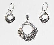 925 Silber Schmuck Set mit Swarovski Steinen - Neuheit  - Design - Weihnachten !