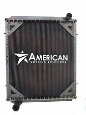 Radiator for Freightliner FLD 112 120 132 and Classic XL 4 Row w/ Frame 24136