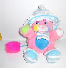 POPPLES BABY CRISBY 1986  Mattel italy plush rattle puppet pupazzo sonaglio