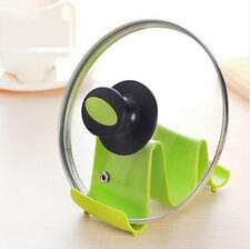 1PCS Holder Wave Shape Tools Pan Cover Storage Rack Kitchen Stand Random Color