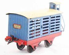 Train HORNBY  WAGON BETAILLERE echelle 0  / jouet ancien Louis Roussy