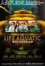 The Life Aquatic with Steve Zissou 2004  Japanese Mini Poster Chirashi Japan B5