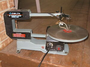 """DELTA Model 40-540 16"""" Variable Speed Scroll Saw ~~~ QUALITY HARD TO FIND"""