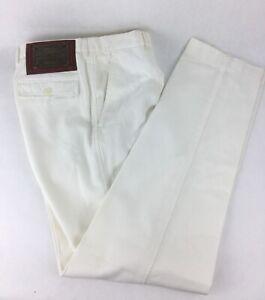 Dolce & Gabbana White Casual Pants Size 52 IT -  34 US