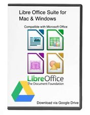 Libre Office Suite Word Processor, Spreadsheets MS Office Windows & Mac Download