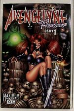 """AVENGELYNE"" Issue #10 (February, 1997) Maximum Press Comics"