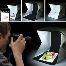 Mini Foto Studio Licht Raum Backdrop Würfel Box Fotografie Beleuchtung Zelt Kit