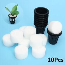 10 Mesh Pot Net Basket Clone Cloning Collar Foam Insert Hydroponic Aeroponic New