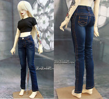 1/3 BJD 58-60cm SD girl doll outfit blue wash jeans SD13 dollfie luts ship US
