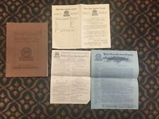 1912 ROBERT ESSEX INCUBATOR CO. BUFFALO AND NEW YORK CITY CATALOG. W INSERTS