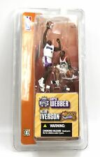 CHRIS WEBBER Kings & ALLEN IVERSON 76ers 2 Pack McFarlane Mini Matchup Figures