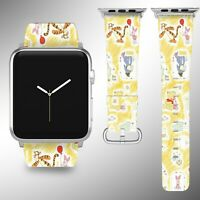 Winnie the Pooh Apple Watch Band 38 40 42 44 mm Disney 5 1 2 3 4 Wrist Strap 2