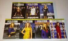 BRAND NEW! THE CLOSER: COMPLETE TV SERIES. SEASONS 1-7. 1 2 3 4 5 6 7. 28 DISCS.