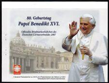 Nach Euro-einführung Abschied Und Nachfolge Von Papst Benedikt Xvi Gedenkbrief-set 2013