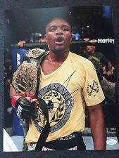 UFC Ultimate Fighting Anderson Silva Autographed Signed 11x14 Photo JSA COA #1