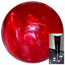 Red Pearl shift knob w/ black adapter for automatic shifters See desc.