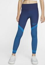 Women's Nike Tech Pack Knitted Tight Fit Leggings Bv2846-492 Size Large Blue