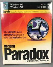 Borland - Paradox for Windows 95/NT v7.0 - Upgrade - CD ROM NIB SEALED 2