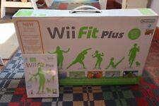 Wii Balance Board pedana Nintendo Wii ORIGINALE + gioco Wii FIT Plus