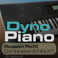 01W DYNO PIANO REASON REFILL 42 PATCHES NNXT COMB 1170 SAMPLES TOP DOWNLOAD