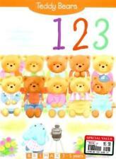 Teddy Bears: 123 By Ann Ricketts,Michael Ricketts