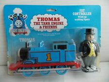 Thomas Tank & Friends ERTL : TRAIN & WIND UP WALKING FAT CONTROLLER  : NEW
