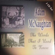 The Words That I Used To Know Adam McNaughtan Audio 2xCD Glasgow Folk