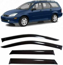 For Ford Focus I Wagon 1998-2004 Window Visors Sun Rain Guard Vent Deflectors