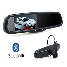 4.3″ Factory Look Car Parking Rear View Mirror Monitor with Bluetooth Handsfree