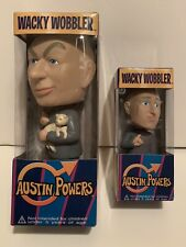 Dr Evil Austin Powers Funko Bobbleheads New In The Original Boxes Set of 2