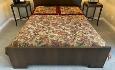 """$1,500 EASTERN ACCENTS Tripoli QUEEN DUVET Cover Tapestry & 2 Euro Shams 27"""" Sq."""
