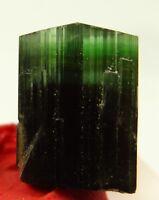 New Green Tourmaline Crystal W/Albite 14 CT Mineral Specimen Skardu Pakistan