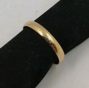 Engagement Gold 18 K.Medium Cane Gold Amarillo. Measure Tatum 9. Ref. L-3