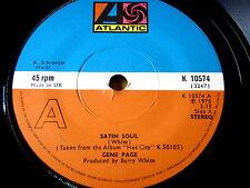 "Gene Page-Satin SOUL 7"" vinyl"