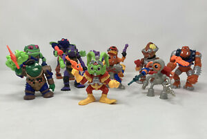 Vintage 1990's Full Set Of Captain Bucky O'Hare Figures With All Weapons!! Rare!