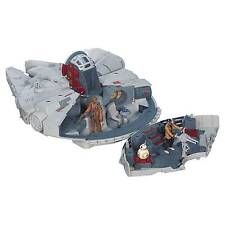Millennium Falcon Star Wars Playset Giant Battle Action Hasbro B3678 3 Figures